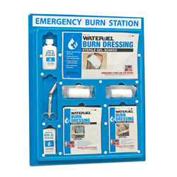 LARGE INDUSTRIAL EMERGENCY BURN STATION