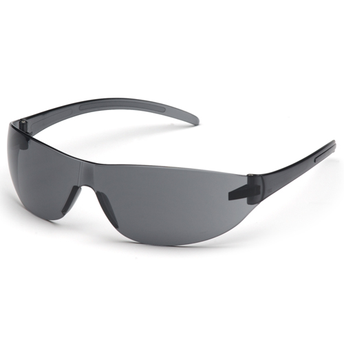 alair pyramex eyewear protection gray frame gray